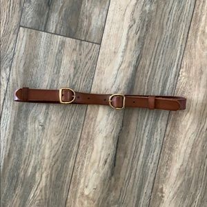 Topshop brown leather belt